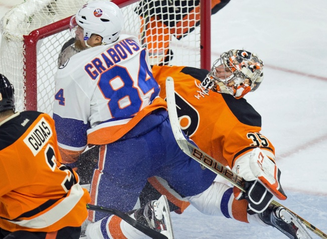 Islanders Blanked by Flyers 4-0