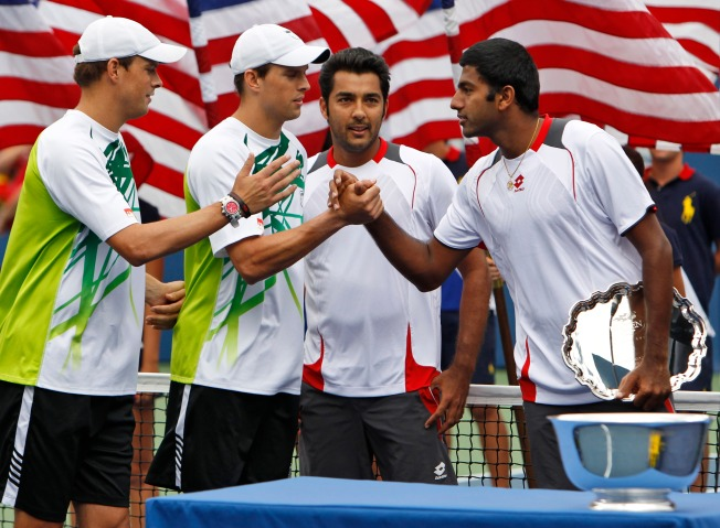Peace, Love and Tennis Come Together at US Open Doubles Final
