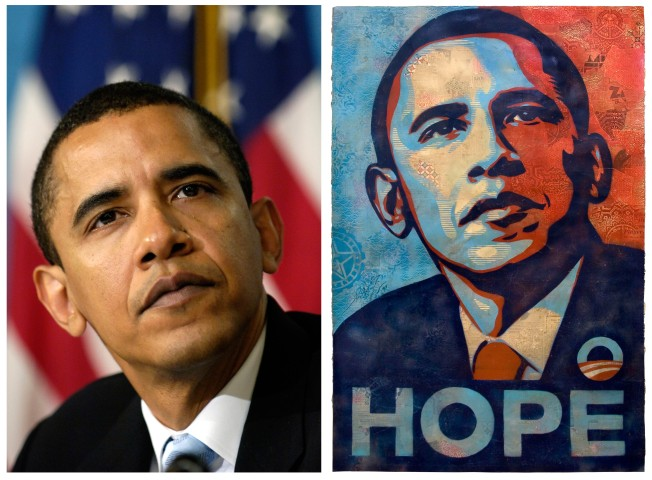 "Obama ""HOPE"" Photog, AP Drop Claims Against Each Other"