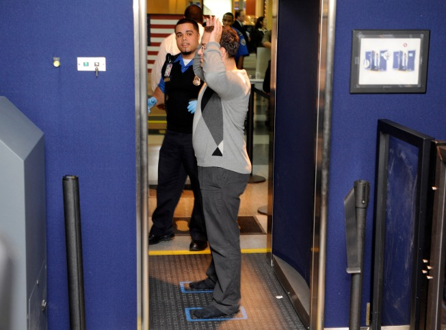 Full-Body Scanners Arrive at JFK Airport