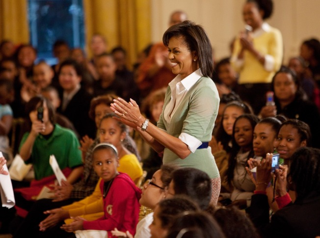 Michelle Hosts Black History Celebration