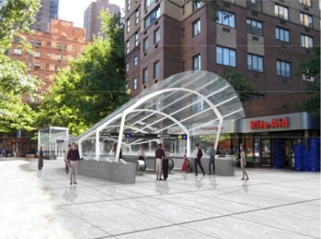 Clean & Orderly Second Ave. Subway Already Exists on Paper
