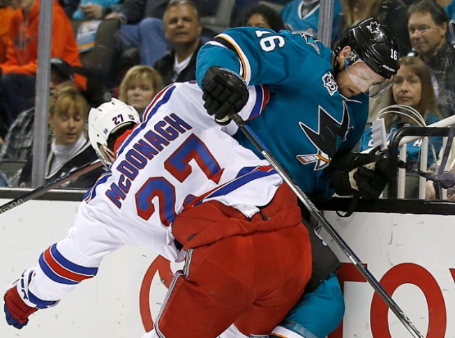 Rangers Ripped Apart by Sharks 4-1