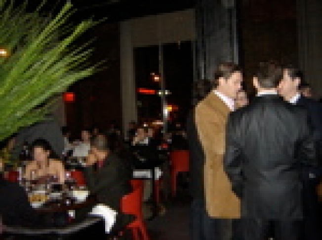 Top Cheffage: Crowds amassed last night at Craftsteak...