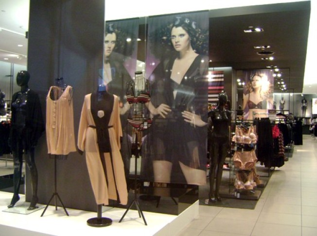 H&M Herald Square, Penn Plaza: Sonia Rykiel Ghost Towns