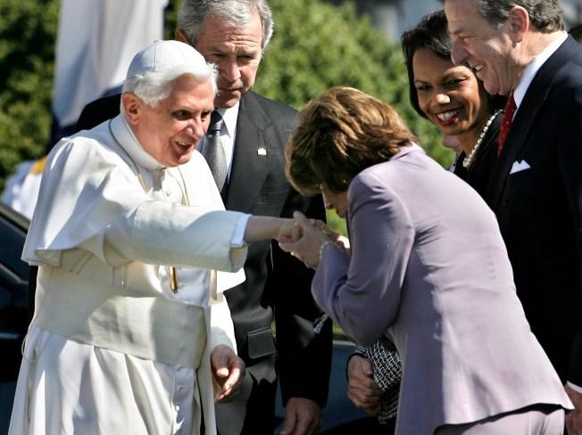 Pope's Ring Mesmerizes Pelosi