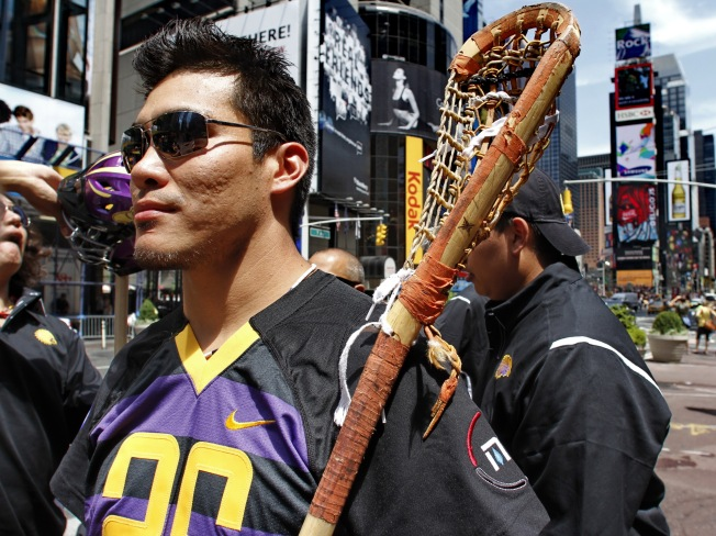England Won't Let Iroquois Lacrosse Team In
