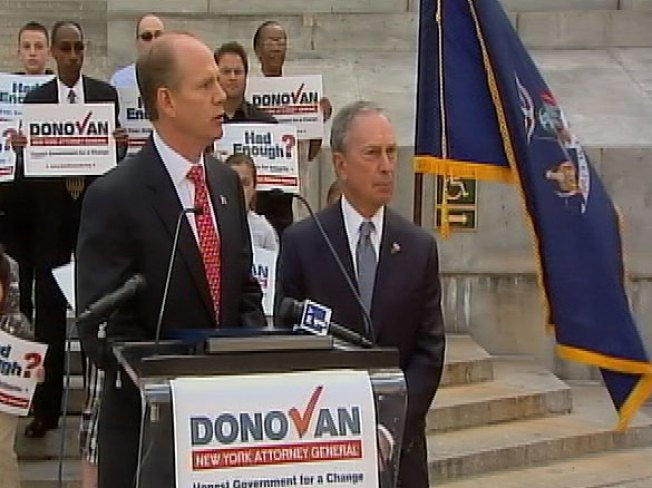 Endorsed by Bloomberg, Donovan Announces Bid for AG