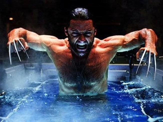 Hugh Jackman Went Schwimming at Schnabel's