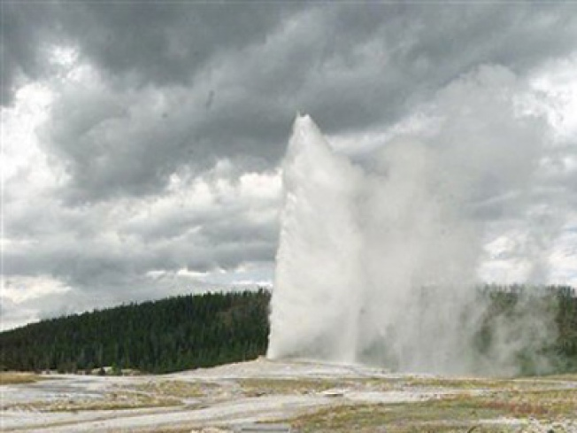 Earthquake Swarm at Yellowstone