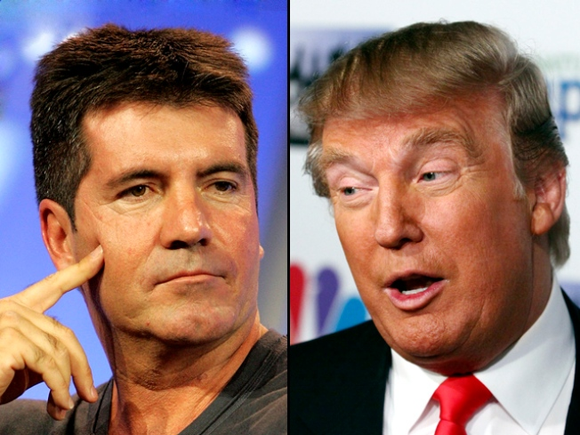"Trump Pushing for Simon's ""Idol"" Gig: Report"