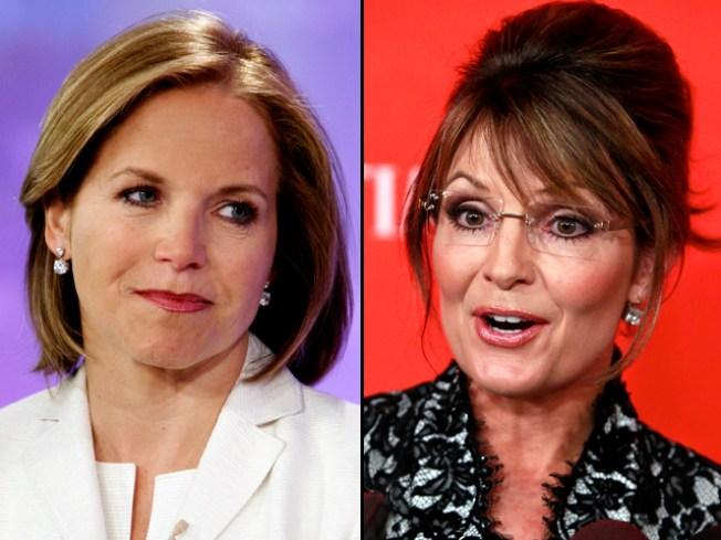 Caught on Tape: Couric Mocks Palin, Kids