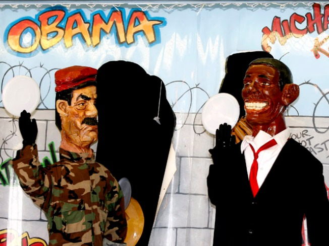 Don't Whack Barack: Obama Figure Removed From NJ Boardwalk Game