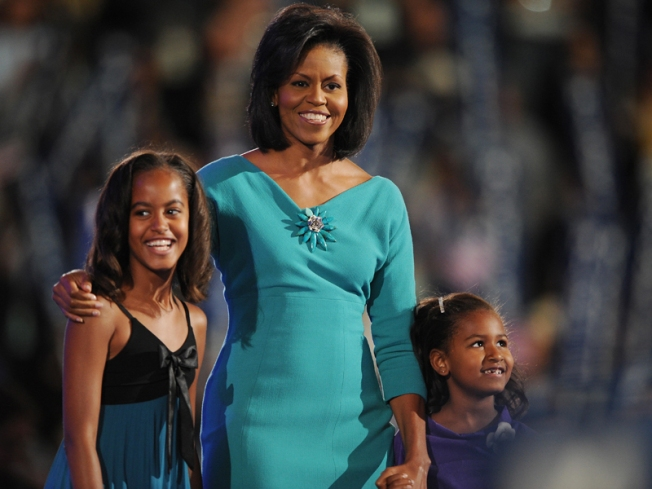 Michelle Takes on Role as Mom-in-Chief