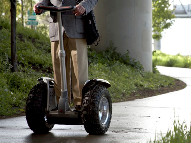 Segway Owner Donated 1,000 Scooters to U.S. Troops