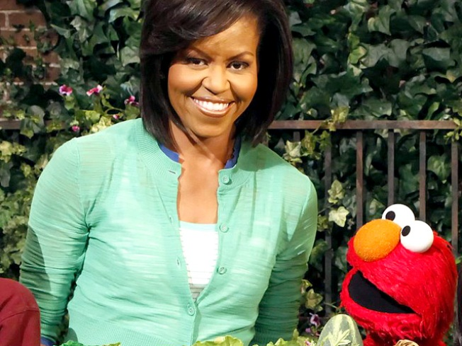 """Michelle Obama Takes Green Message to the """"Street"""""""