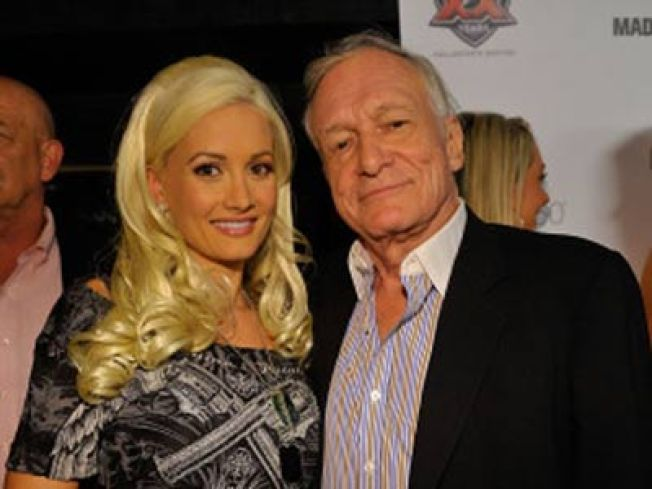 Hef Heartbroken After Playmate Dumps Him...Sort Of