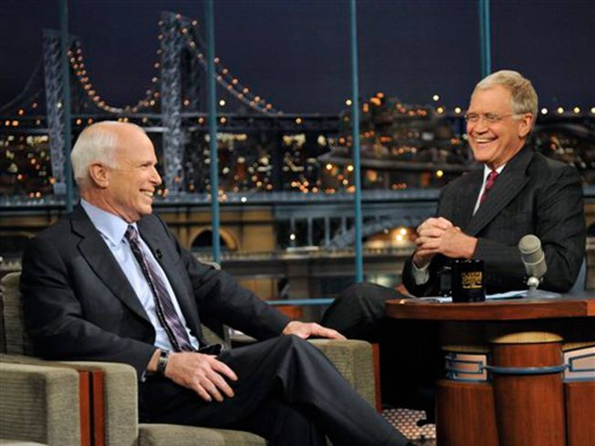 McCain To Letterman: 'I Screwed Up'