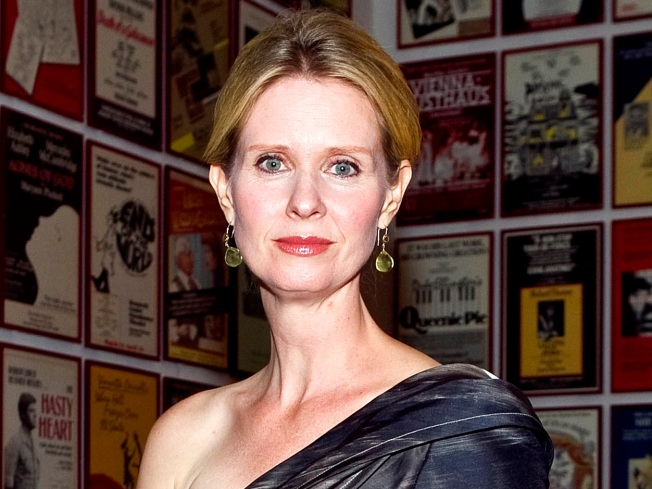 Cynthia Nixon and Christina Marinoni Welcome a Son
