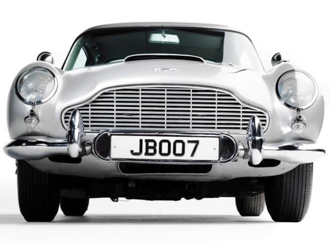 Sticker Shock: James Bond's Aston Martin May Fetch $5.5M