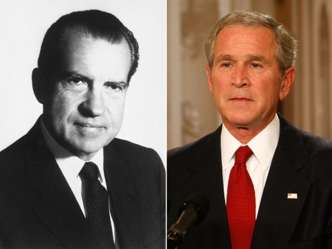 Bush is Less Popular than Nixon in Final Days