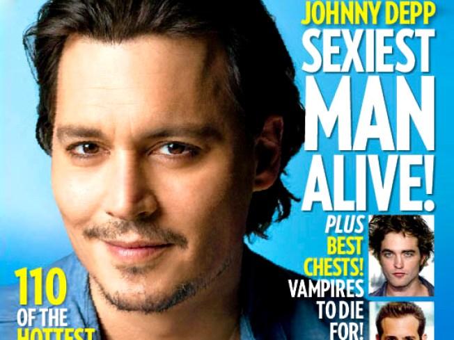 People Has Spoken: Depp is Sexiest Man Alive