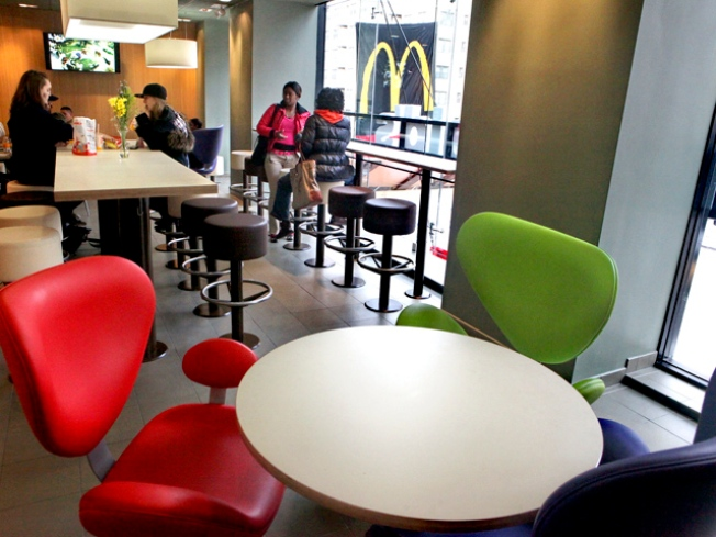 Le Big Mac: Manhattan McDonalds Goes Euro