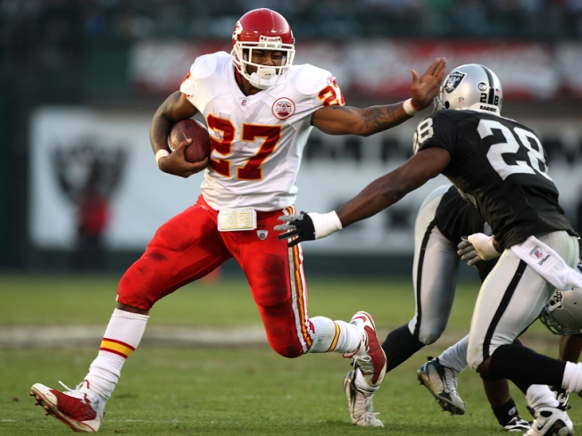 Kansas City Suspends RB Johnson for Gay Slurs