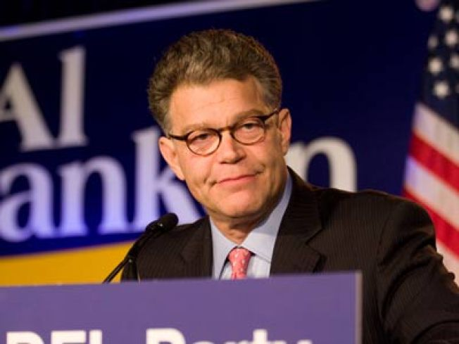 Al Franken Now Ahead in Minn. Senate Race