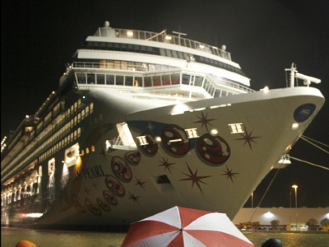 Rescuers Search for Woman Missing from Cruise Ship