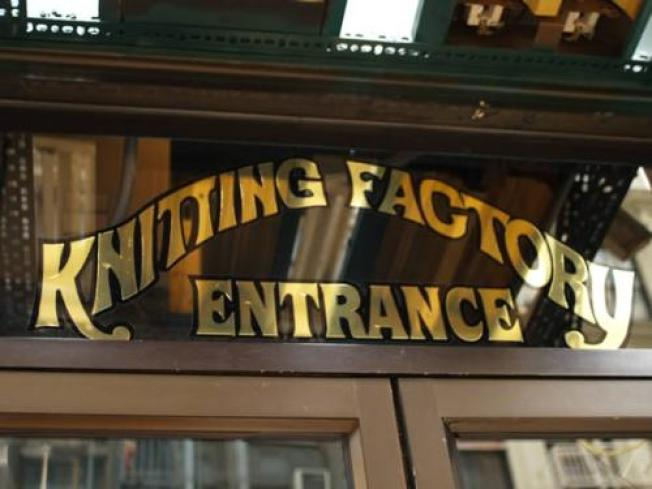 Knitting Factory Set To Unwind