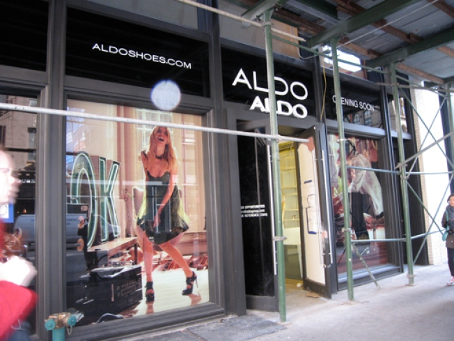 Storecasting: Aldo Shuffles In To Soho, Again