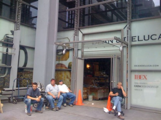 Storecasting: The New York Times Building Gets a Dean and Deluca