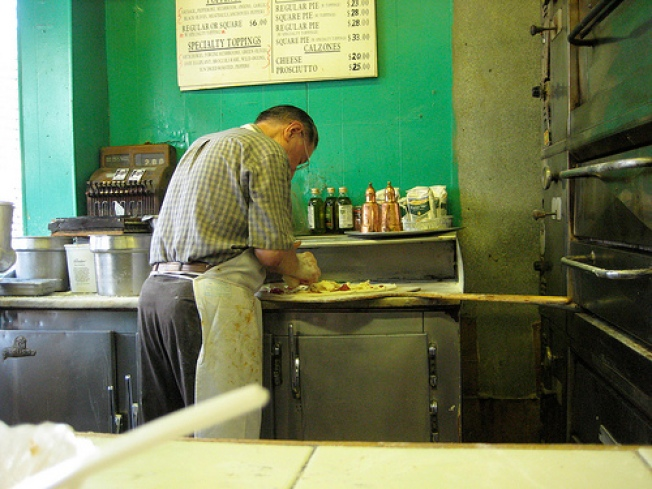Di Fara Wire: Line Is Now Sometimes, Somewhat Less Chaotic