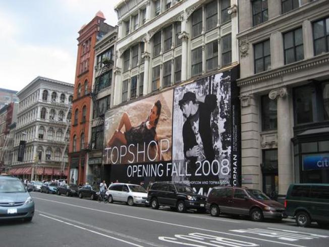DelayWatch: Topshop Opening Pushed to Spring