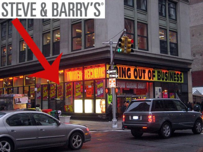 Broadway Steve & Barry's Will Rise Against All Odds