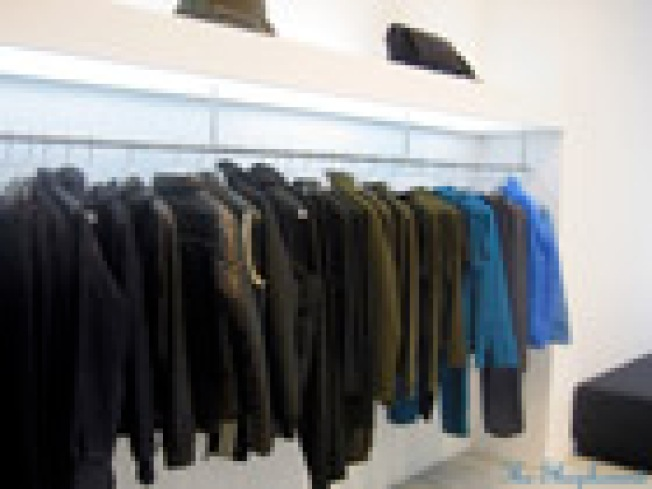 Yohji Finally Goes Green: The Shophound has photos of the...