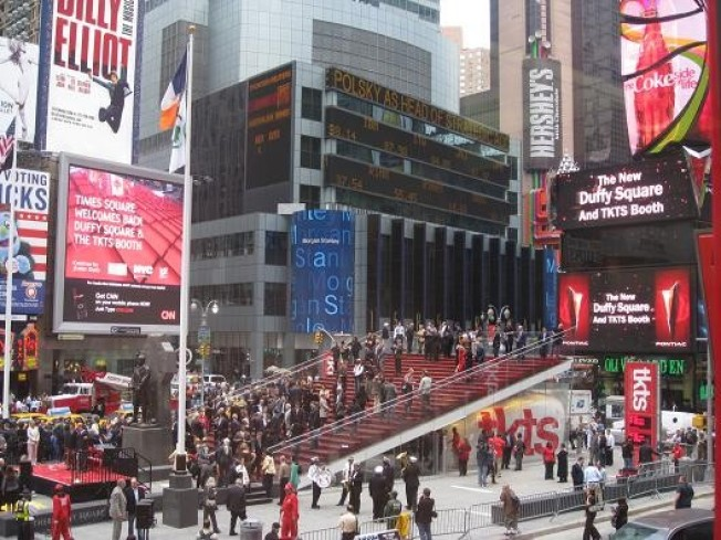CurbedWire: TKTS Opens its Big Red Stairway, The Ludlow's Thong Song
