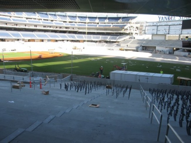Field Being Installed at House That A-Rod Built