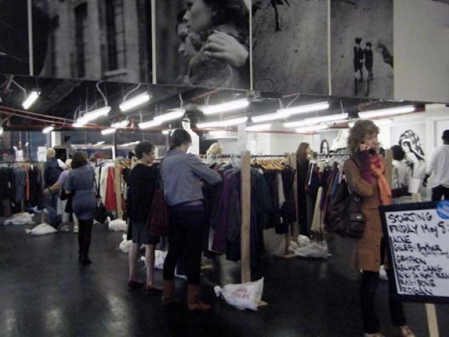 Now Open: Save Fashion Brings Rick Owens to 42nd Street