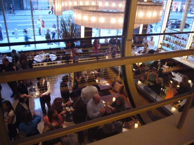 Hangover Observations: Gourmet's Aureole Preview Party