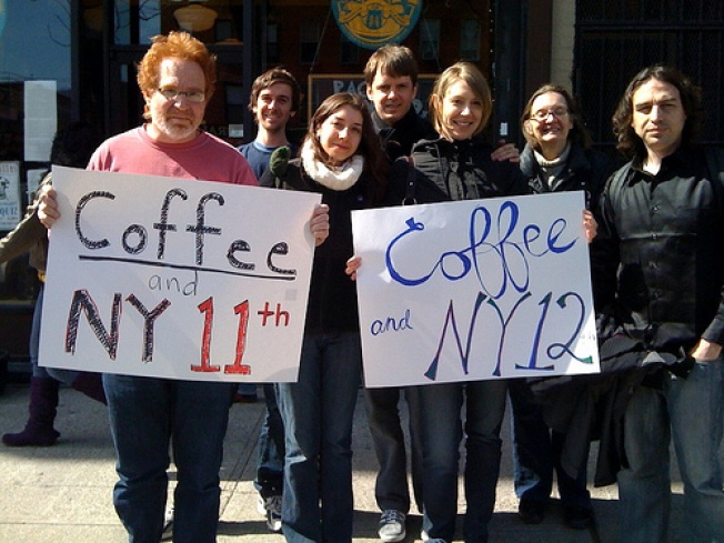 Coffee or Tea? A Party Grows in New York