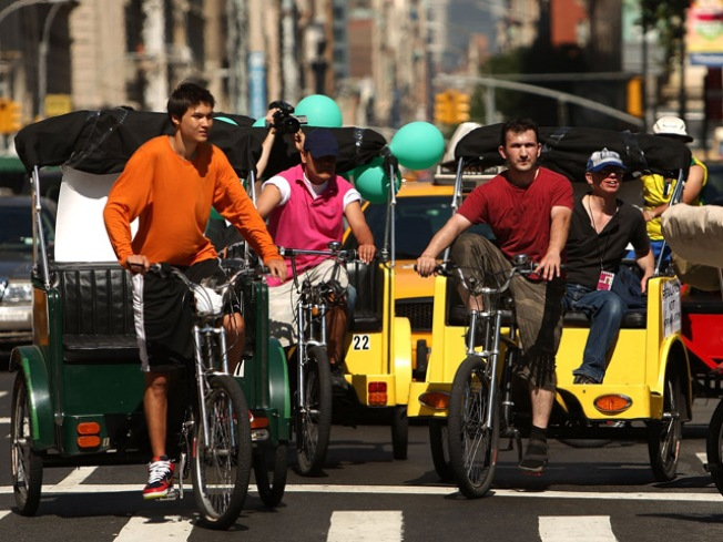 City Cracking Down on Pedicabs
