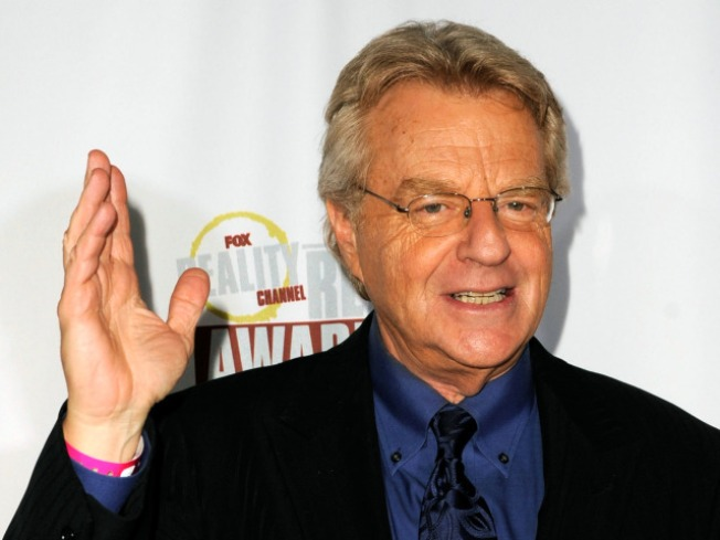 "Jerry Springer To Host Live ""America's Got Talent"""