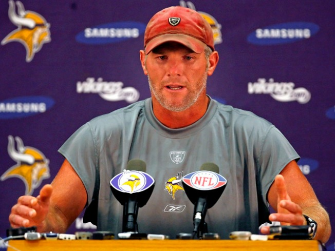 """Favre Factor"" a Big Marketing Hit for Vikings"