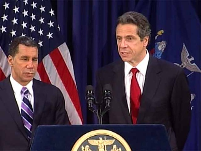Cuomo, Paterson Speak on Transition of Power