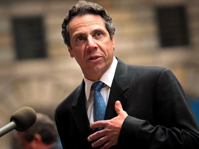 Cuomo Cuts His Salary By 5 Percent in Tough Times