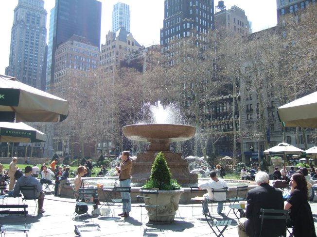 Tonight at Bryant Park: All that After-Work Jazz