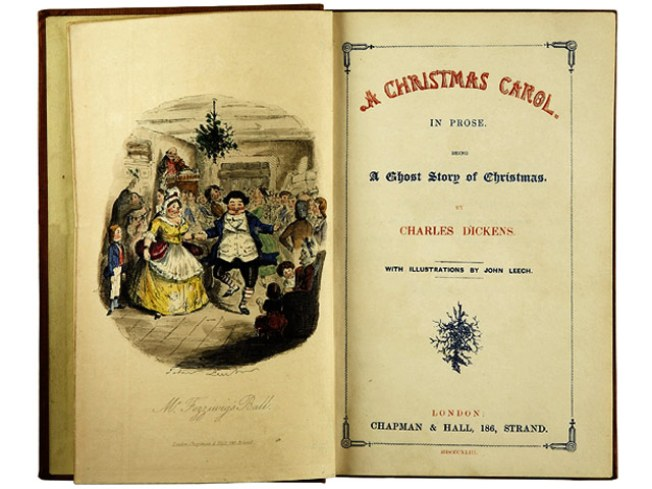 "Holiday Musts: See Dickens' ""Christmas Carol"" Manuscript"