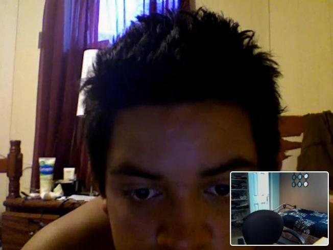 Laptop Thief Caught on Webcam